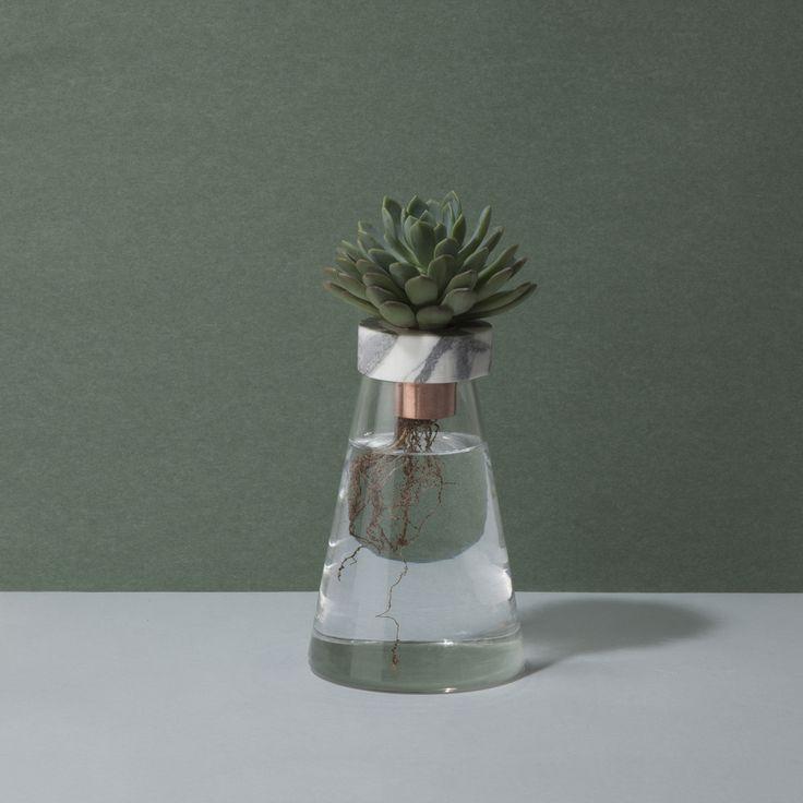 Project 001 - GV02 #etestudios #hydroponics #cactus #marble #copper