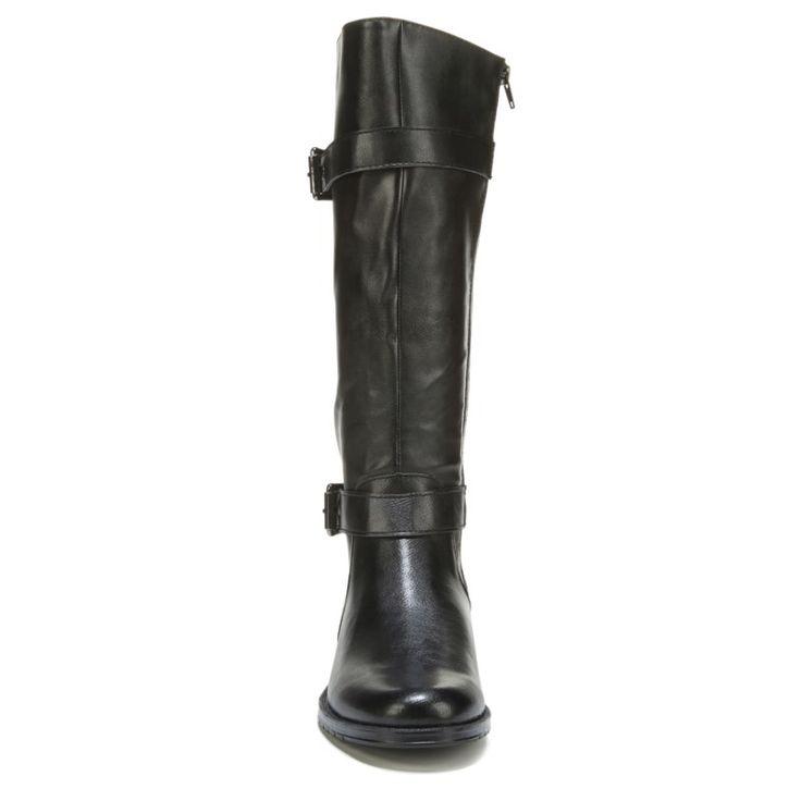 Aerosoles Women's Sky Ride Extended Calf Boots (Black) - 12.0 M