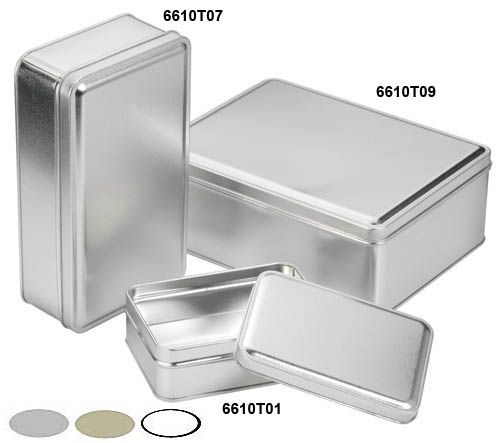 Slip Cover Cans - Rectangular And Square | Freund Container, a Division of Berlin Packaging