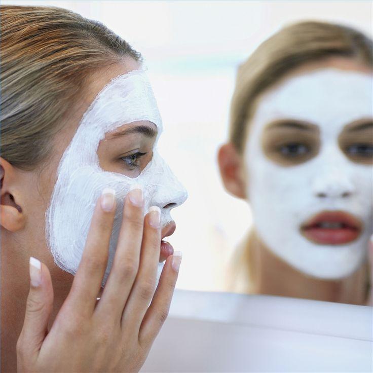 How to Make a Milk Face Mask Brown sugar, milk, honey.