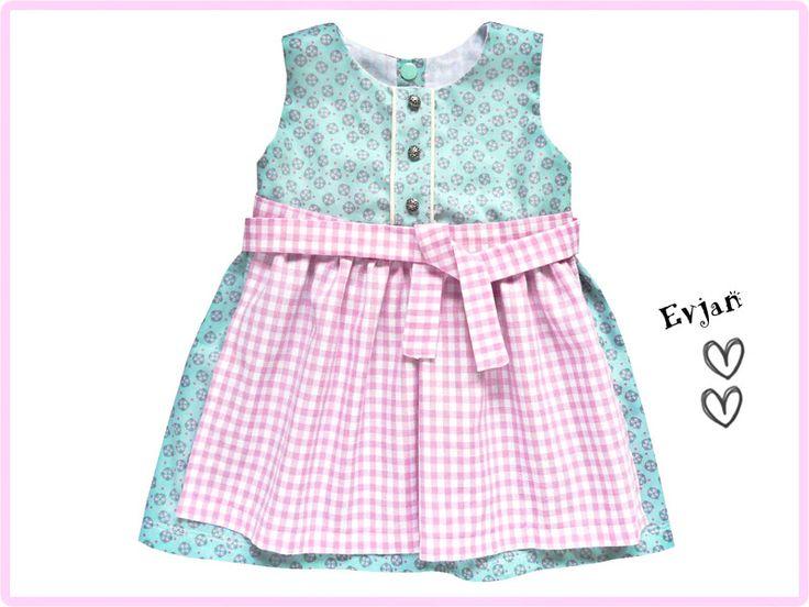 Kleider - ♥ Dirndl Gr. 68 ♥ - ein Designerstück von Evjans bei DaWanda