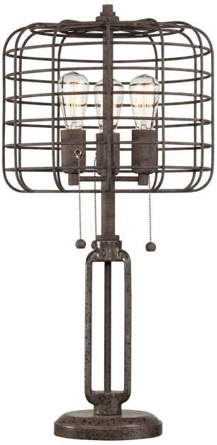 Cage Lamp... love!!!