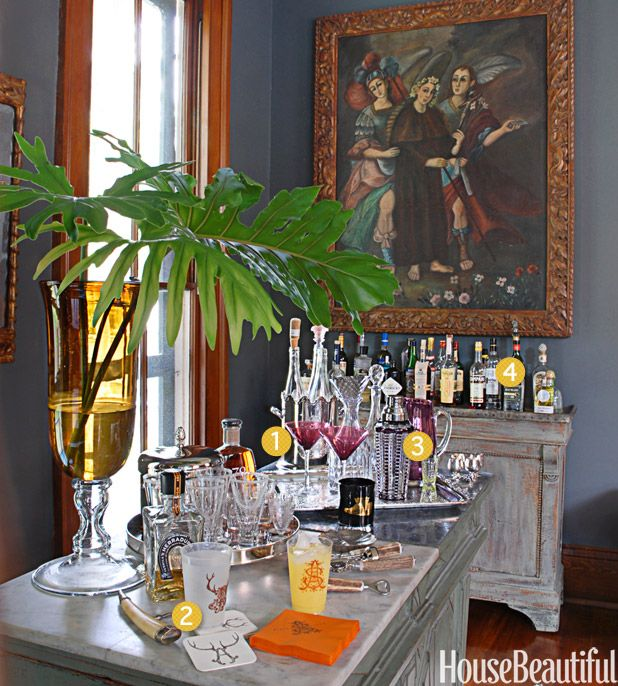 30 Stylish Home Bars