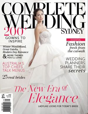 Complete Wedding Sydney issue 35 #completewedding out from July 25, 2013