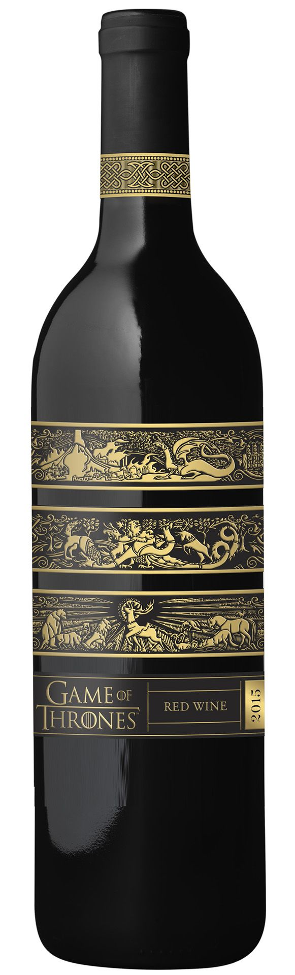 Officially Licensed Game of Thrones Red Wine