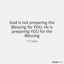 Image result for td jakes what god has given you