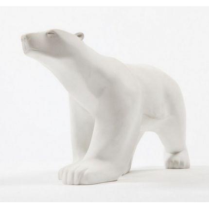 Reproduction de #sculpture d'un grand #ours blanc par François #Pompon #élégant et #déco - Prix 79 euros TTC