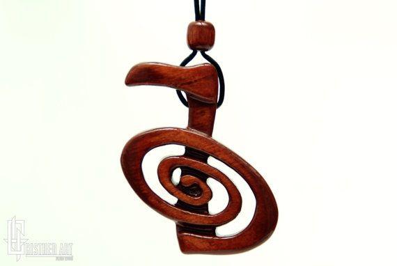 Cho Ku Rei Reiki Symbol Necklace  Reiki Jewelry  by CristherArt