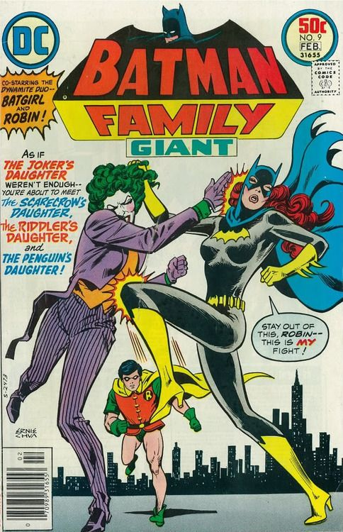 Batgirl & Duela Dent (Jokers 'Daughter') battle it out!