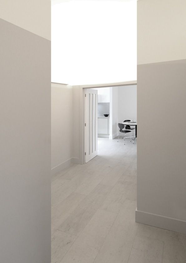 Concrete tiling for a lighter room http://www.concreateflooring.co.uk/products/white/