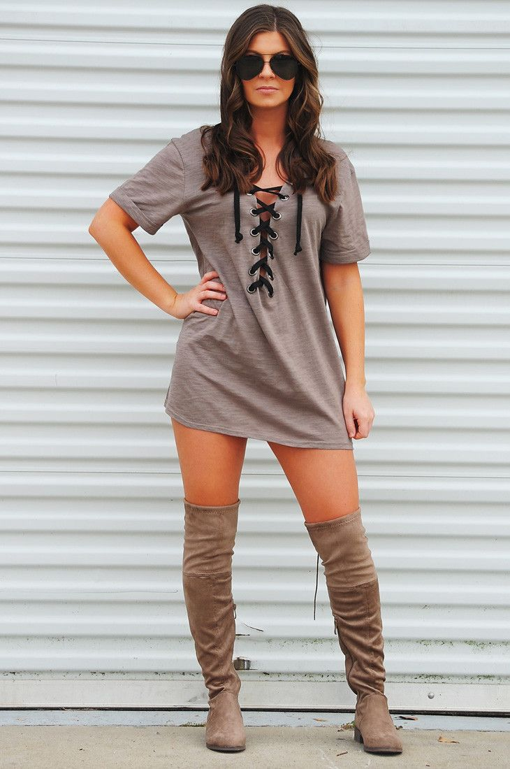 PREORDER: #LACED Tunic: Smoke #shophopes #preorder