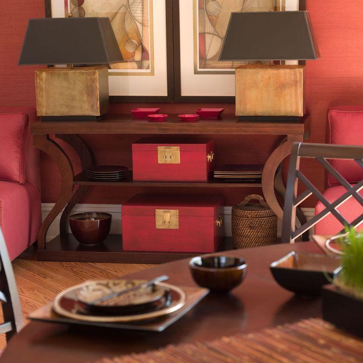 Donatella console dark sable console tables home
