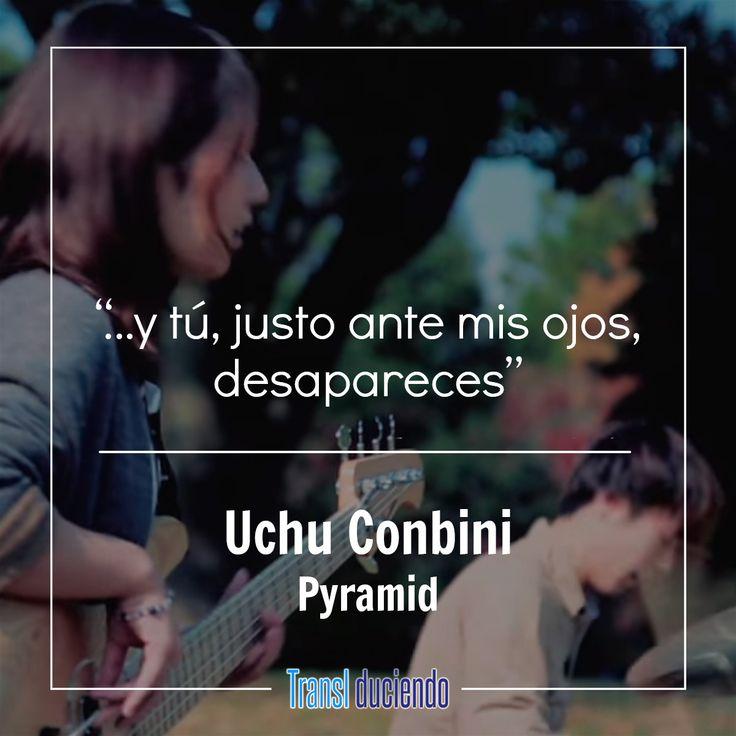 """¡Hola! Hoy te traemos una canción sugerida por un lector. Uchu Conbini es una agrupación de math rock de la que hoy presentamos """"Pyramid"""" traducida. La letra la puedes encontrar completa aquí:  https://goo.gl/SHF8A2 #UchuConbini #Pyramid #FeelTheDyeingNote #SomaruOtoOKakuninShitara #JRock #JMusic  Si te gustó la traducción por favor ayúdanos a compartirla. Cuéntanos en los comentarios qué tal te pareció la canción y qué otras te gustaría que tradujéramos."""