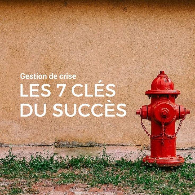 Les 7 élėments clés d'une bonne gestion de crise (médiatique)
