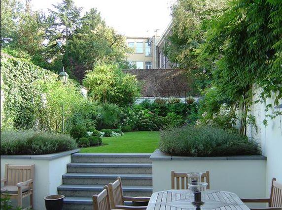 Les 25 meilleures id es de la cat gorie petits jardins sur for Jardin urbain moderne