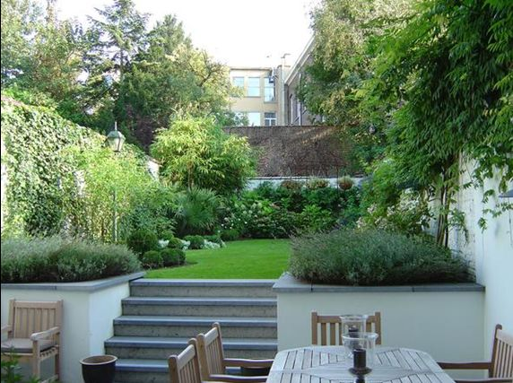 Les 25 meilleures id es concernant am nagement paysager - Petite terrasse amenagee ...