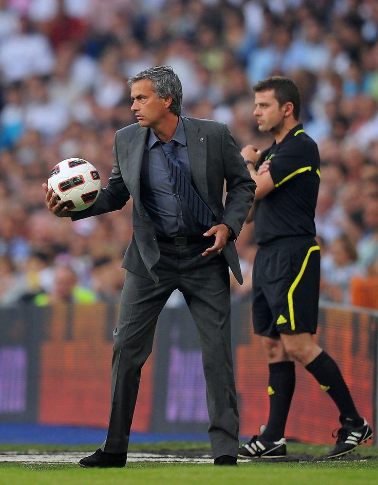José Mourinho - Real Madrid v CA Osasuna - La Liga