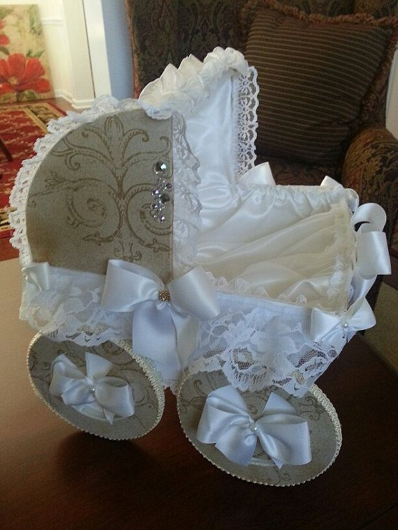 This handcrafted baby carriage is the perfect baby shower for Wholesale quinceanera craft supplies