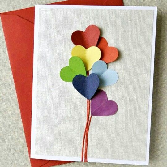 Fun Valentine's Day card that is not too cutesy or pink.