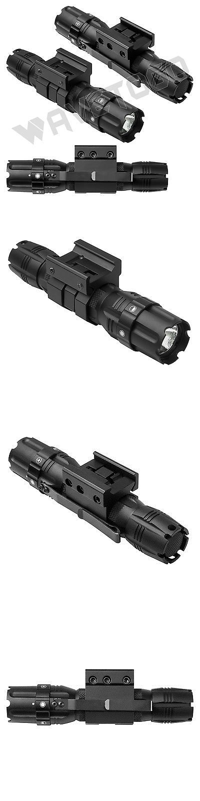 sporting goods: Ncstar Pro Green Led 3W 250 Lumen Flashlight Weaver Picatinny Mount Strobe 1 BUY IT NOW ONLY: $39.99