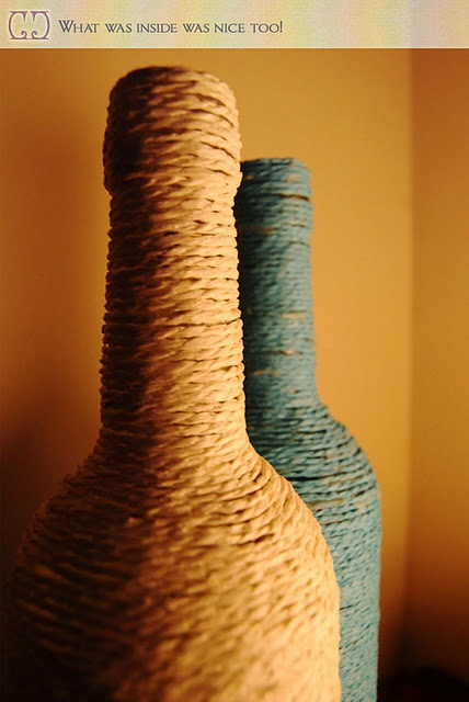 What to do with those empty wine bottles diy stuff i for What to make with empty wine bottles