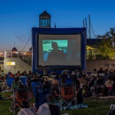 Waterfront Flicks at Jack London Square Waterfront Flicks at Jack London Square  WHEN: Jun 12 at 8:30 p.m. to 10 p.m. WHERE: Jack London Square , Jack London Ferry Lawn, Clay and Water St., Oakland, Ca COST: Free AGES: All Ages