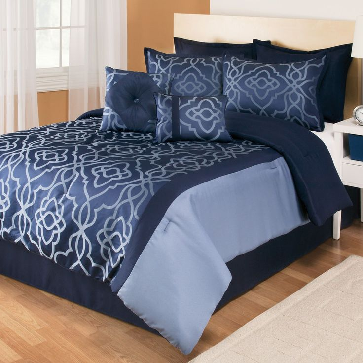 32 Best Images About Navy Blue Comforter Sets On Pinterest