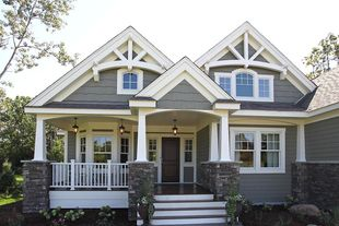 Craftsman Home Plan Check out the website to see more