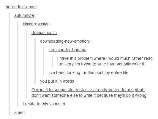 Me when im writing