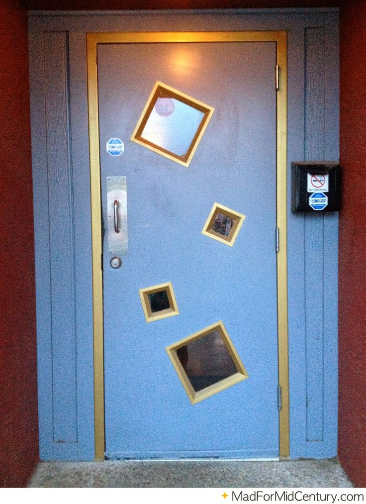 1000 Images About Mid Century Modern Door On Pinterest