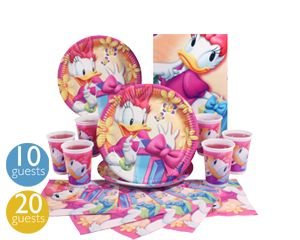 Daisy Duck Party Tableware