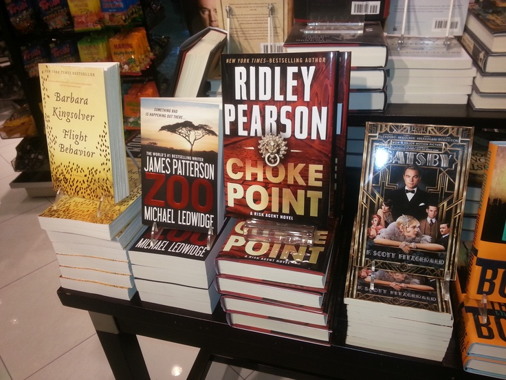 Yay! Choke Point on display in Miami bookstore.