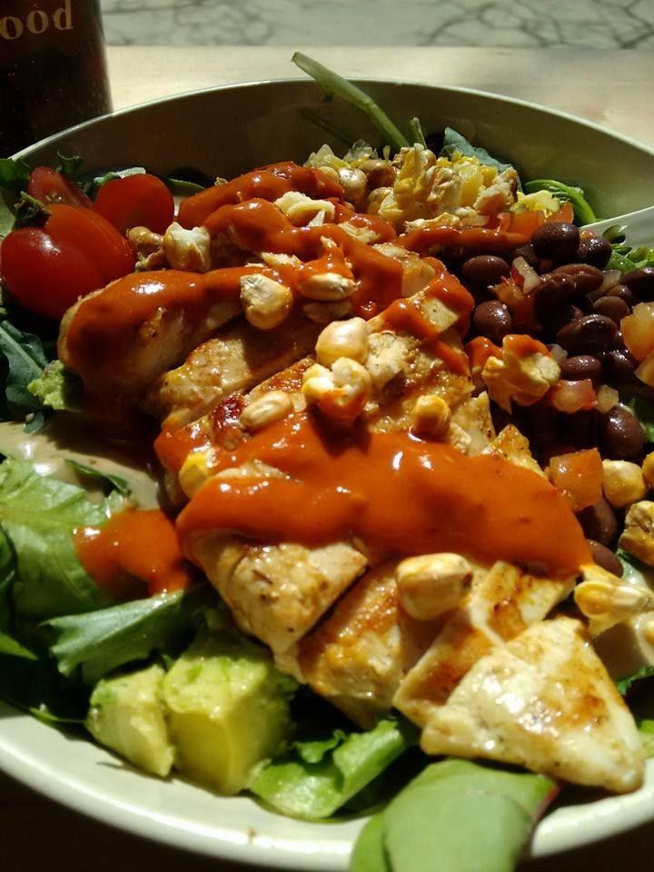 Southwest Chicken Salad (photo by Sandy)