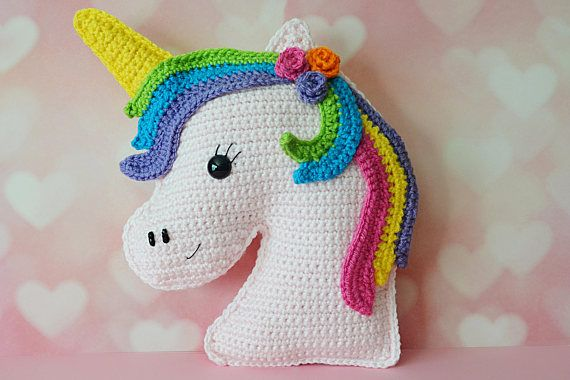 Unicorn Kawaii Cuddler Crochet Pattern