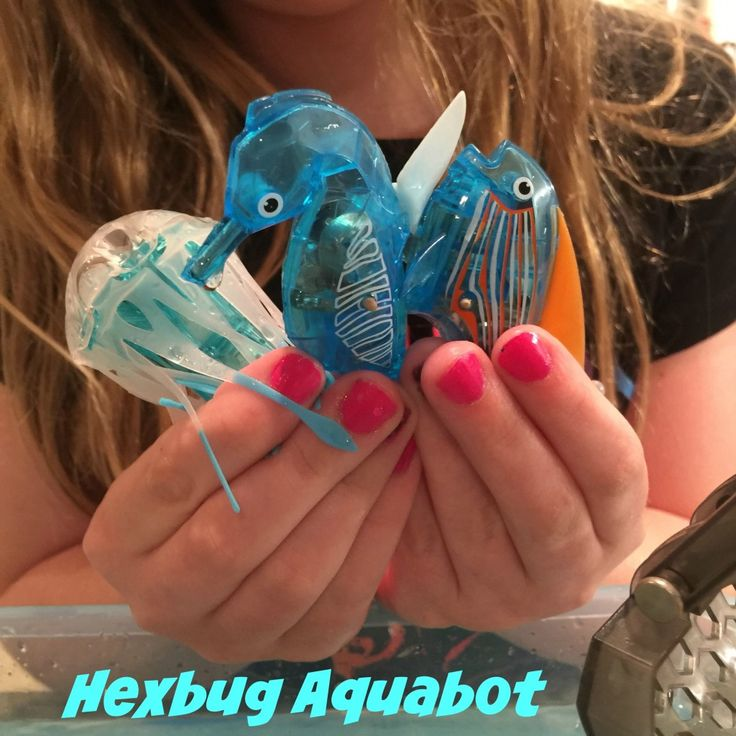 Check out the NEW Hexbug Aquabot toys!