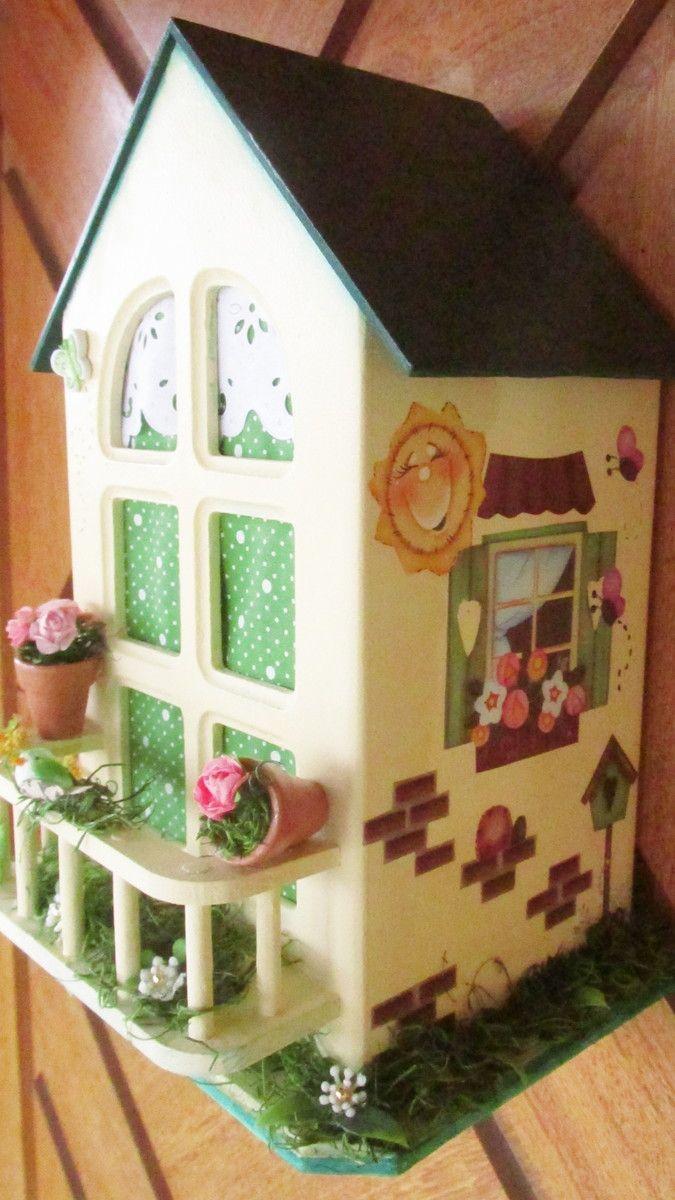 PUXA SACO - casinha com varanda