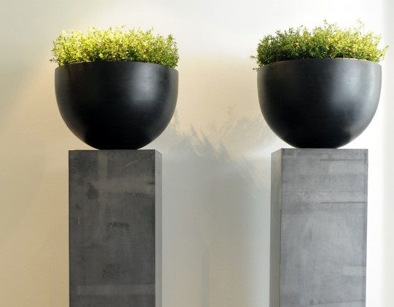 Plant Ideeen Woonkamer : Zuilen: decoratie voor de hal - Interieurtips ...