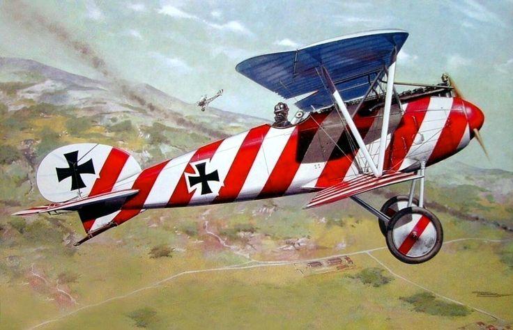 1917 Albatros DIII OAW