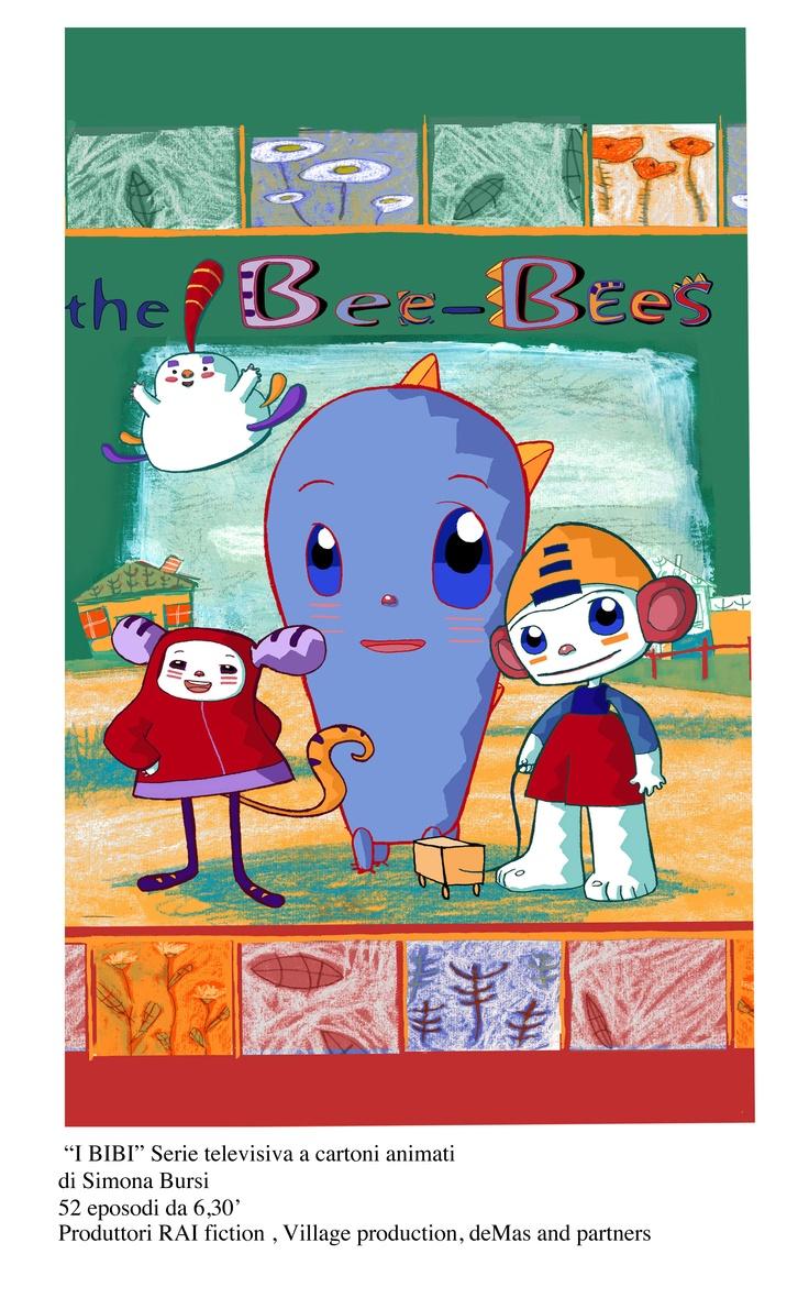 """""""THE BEE BEES"""" di Simona Bursi  52 episodi da 6,30'"""