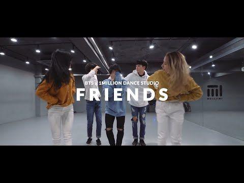 [FANMADE] BTS 'Friends' x 1MILLION Dance Studio - YouTube in 2020   Dance studio. Better music. Dance