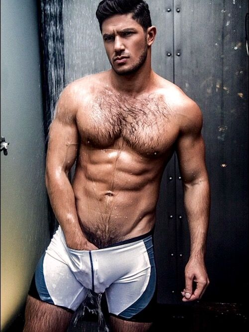 Wet Hairy Men 33