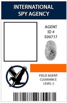spy/detective badge - boys will love this