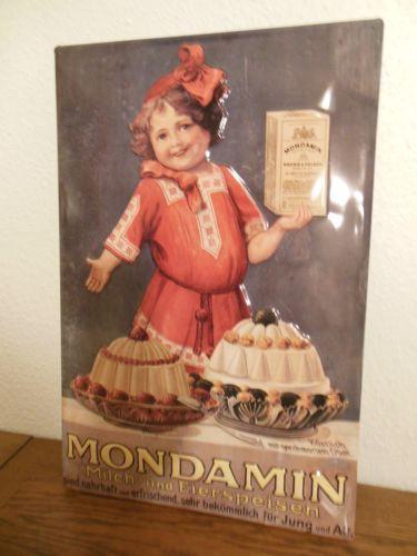 Werbe #Blechschild - #MONDAMIN - 59 X 39,5 cm - TOP