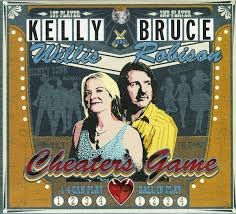 Kelly Willis CD Cheater's Game contains:  Cheater's game -- Border radio -- We're all the way -- Long way home -- 9,999,999 tears -- Leavin' -- But I do -- No kinda dancer -- Lifeline -- Ordinary fool -- Born to roll -- Waterfall -- Dreamin'.