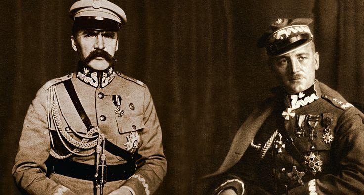 Wojna między Piłsudskim aSikorskim należała donajgłośniejszych konfliktów IIRzeczypospolitej. Fot.Fotonova/Foka/Forum