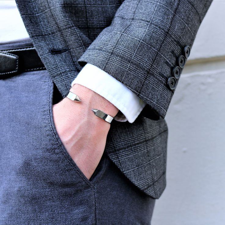Congratulations to @theparisianman. You're our #NSPicoftheDay! For a chance to get featured, post a cool photo of your Northskull jewelry with the tag #Northskull on Instagram.  Product featured: The End Cuff in Silver   Available at Northskull.com [Worldwide Shipping] #Luxury #Jewelry #MensAccessories