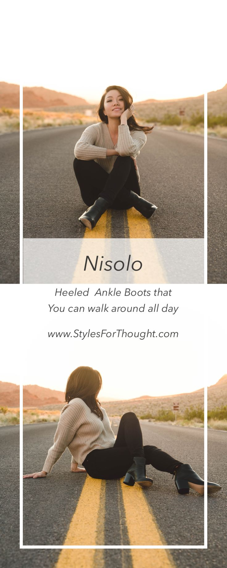 Nisolo Dari Ankle Boots -Sustainable shoes that you NEVER want to take off!