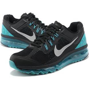 http://www.asneakers4u.com/ NIKE AIR MAX 2013 cheap mens running shoes blue black Sale Price: $68.50