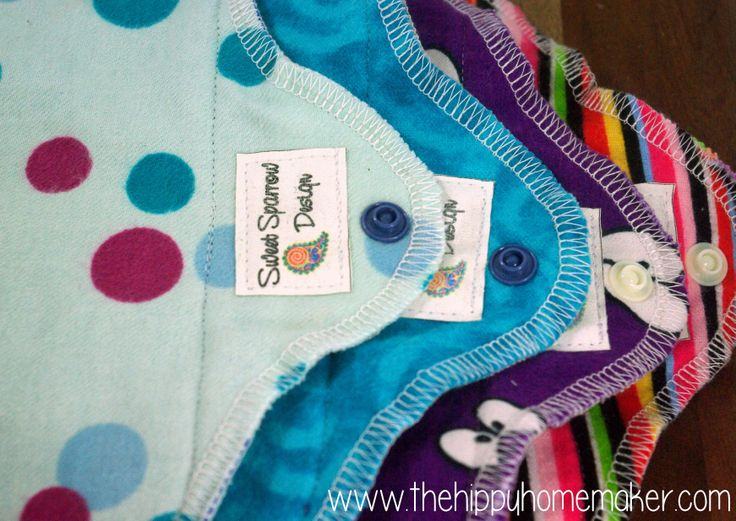 What do YOU use when Aunt Flo comes to town? Sweet Sparrow Designs & The Hippy Homemaker giveaway - Aunt Flo's Eco-Friendly Starter Kit