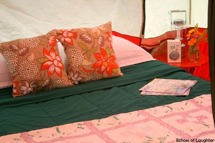 How To Create A Camping Bedroom